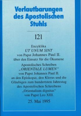 Papst Johannes Paul II.: Enzyklika UT UNUM SINT