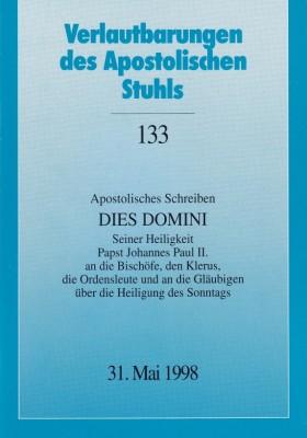 Papst Johannes Paul II.: Apostolisches Schreiben DIES DOMINI