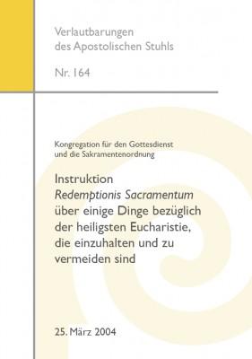 Instruktion Redemptionis Sacramentum