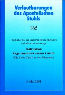 Instruktion Erga migrantes caritas Christi