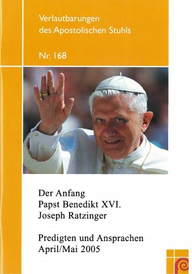 Der Anfang - Papst Benedikt XVI.
