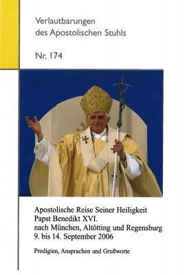 Apostolische Reise Seiner Heiligkeit Papst Benedikt XVI. nach München, Altötting und Regensburg