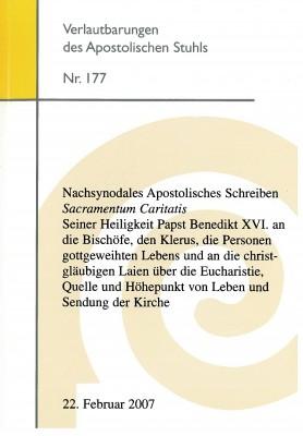 Apostolisches Schreiben Sacramentum Caritatis