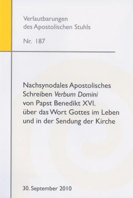 """Nachsynodales Apostolisches Schreiben """"Verbum Domini"""""""