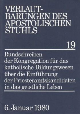 Einführung der Priesteramtskandidaten in das geistliche Leben