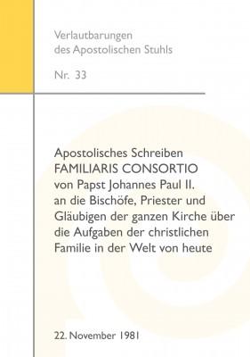 Papst Johannes Paul II.: FAMILIARIS CONSORTIO