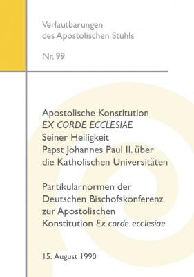 Konstitution EX CORDE ECCLESIAE