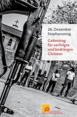 Gebetszettel Gebetstag für verfolgte und bedrängte Christen – Stephanustag, 26. Dezember