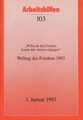 Welttag des Friedens 1993
