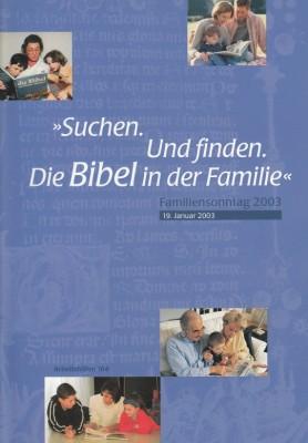 Familiensonntag 2003