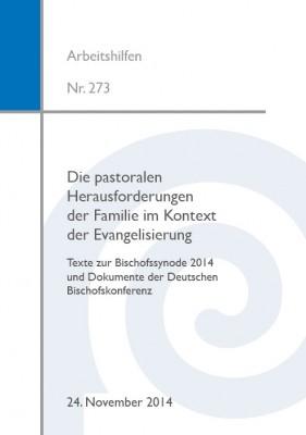 Die pastoralen Herausforderungen der Familie im Kontext der Evangelisierung