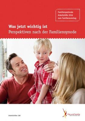 Was jetzt wichtig ist – Perspektiven nach der Familiensynode, Familiensonntag 2016