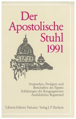 Der Apostolische Stuhl 1991