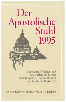 Der Apostolische Stuhl 1995